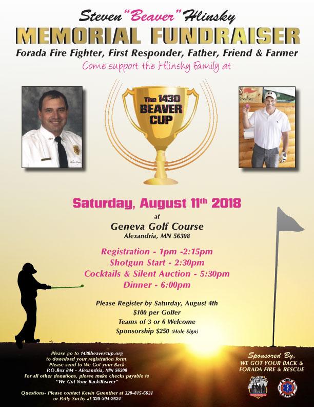 Memorial-Fundraiser for Beaver